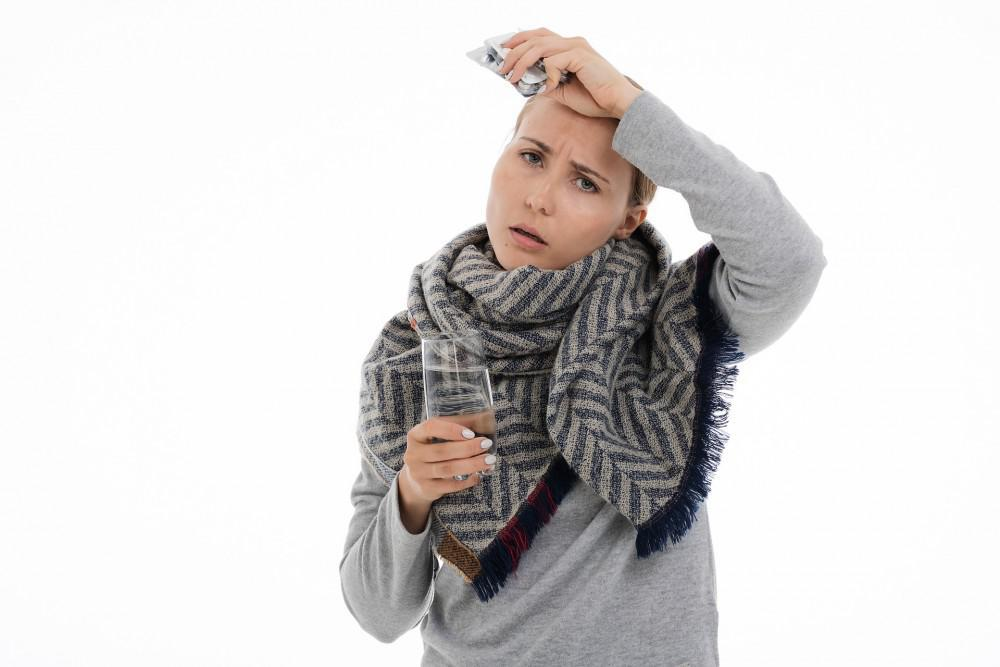 Hot flashes are inevitable for women. There are natural ways to treat this.